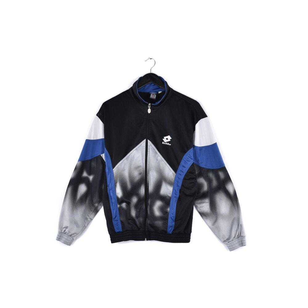 Lotto - Embroidered Mini Logo Track Jacket M
