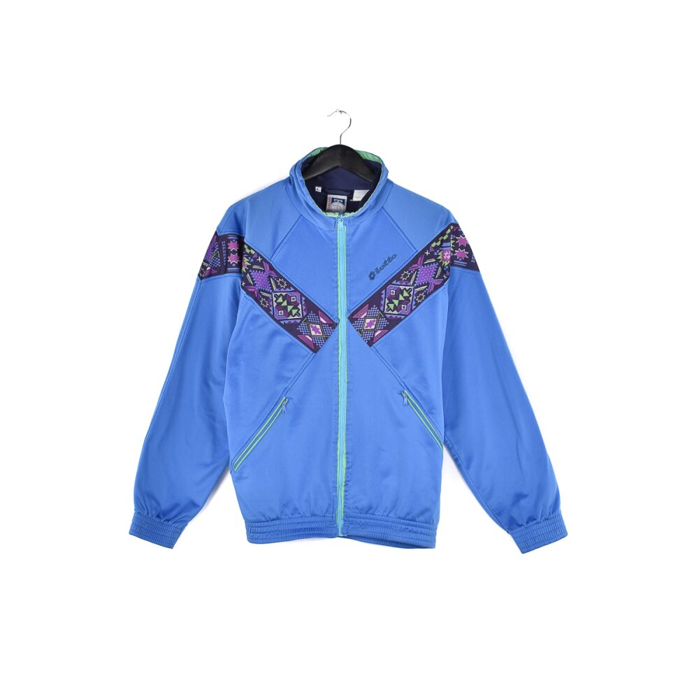 Lotto - Embroidered Mini Logo Track Jacket L