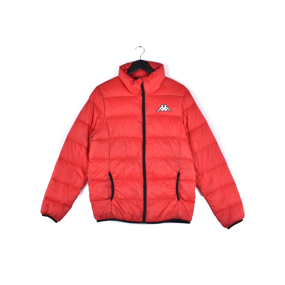Kappa - Puffy Embroidered Logo Winter Jacket