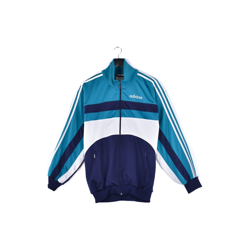 Adidas - Embroidered Logo Track Jacket M