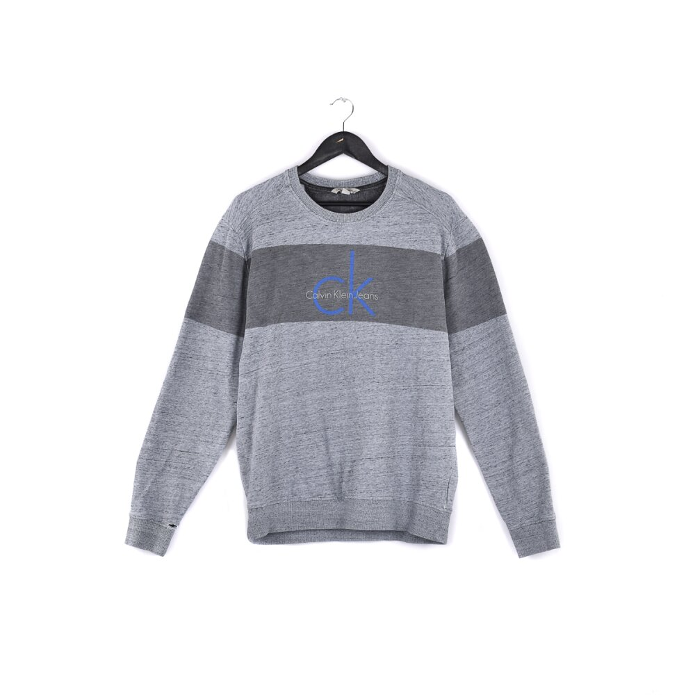 Calvin Klein - Modern Usedlook Spellout Sweater L