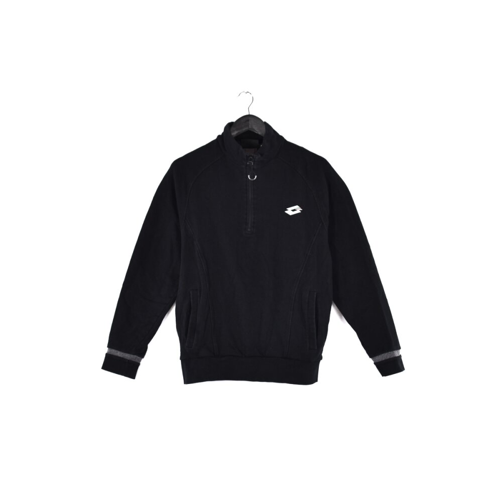 Lotto - Embroidered Mini Logo Zip Sweatshirt L