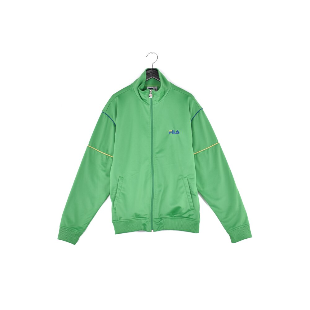Fila - Embroidered Mini Spellout Track Jacket S