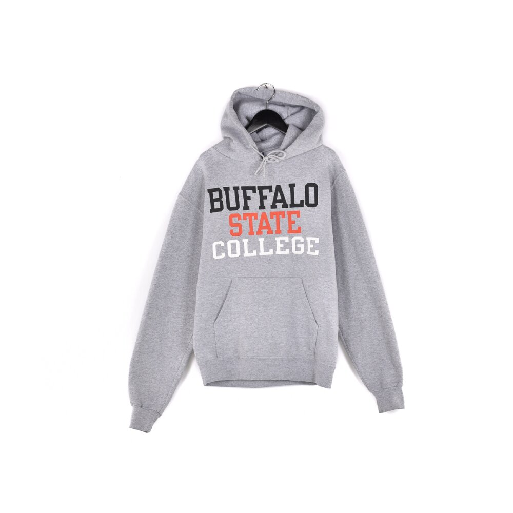 Champion - Buffalo State College Spellout Hoodie M