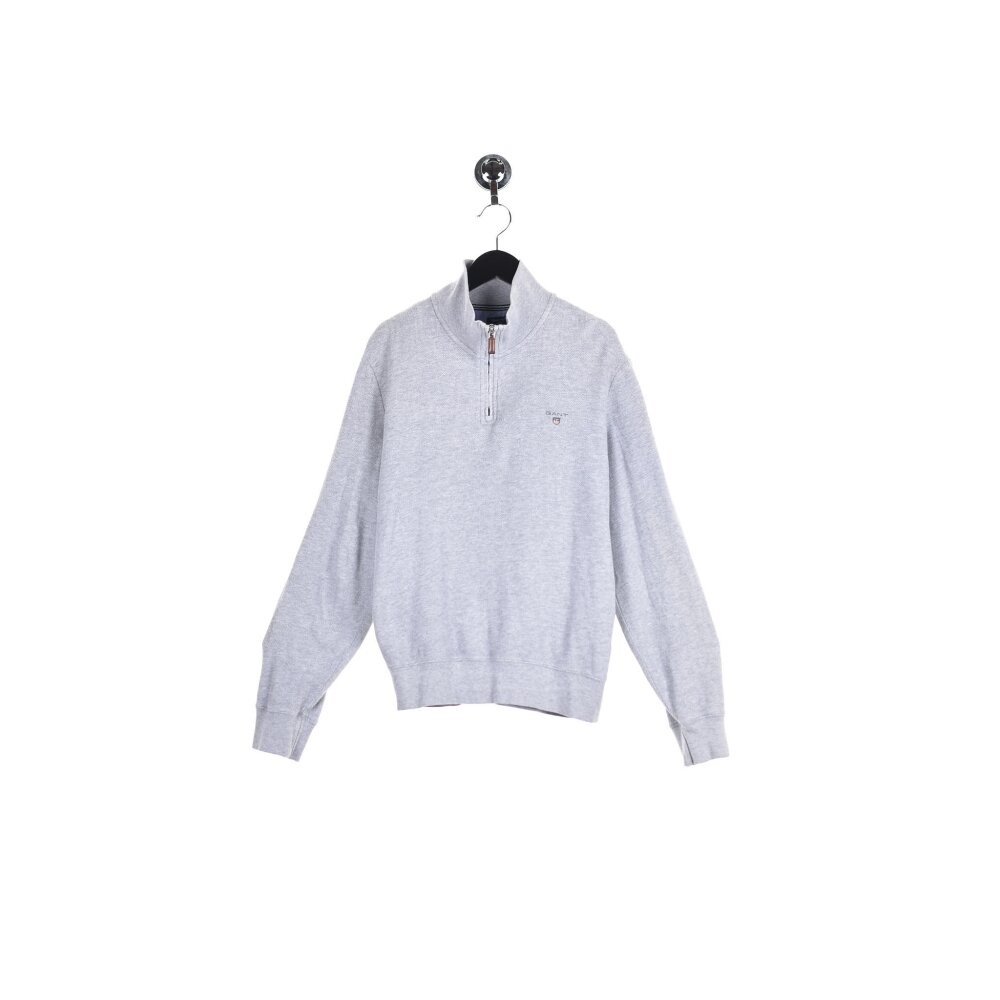Gant - Embroidered Mini Logo Half Zip (S)