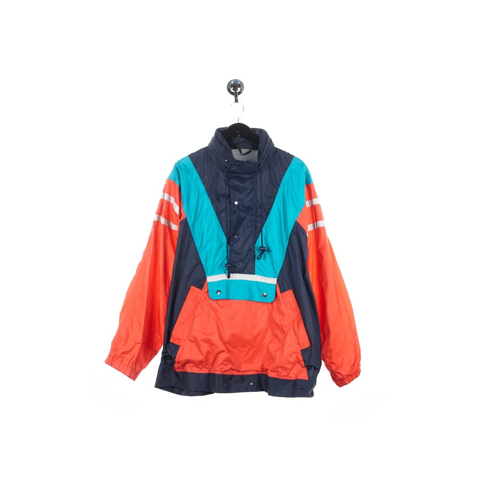 Unknown Label - Half Zip Rain Jacket